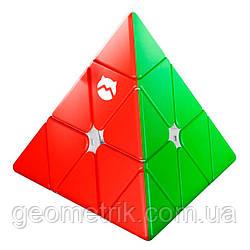 Пирамидка Рубика 3х3 MG Pyraminx (Monster Go) (без наклеек) арт. MG-PYR-1 штрих код 6970697962421