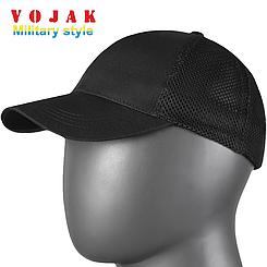 Бейсболка тактическая URBAN TACTICAL CAP Mesh Канвас Black