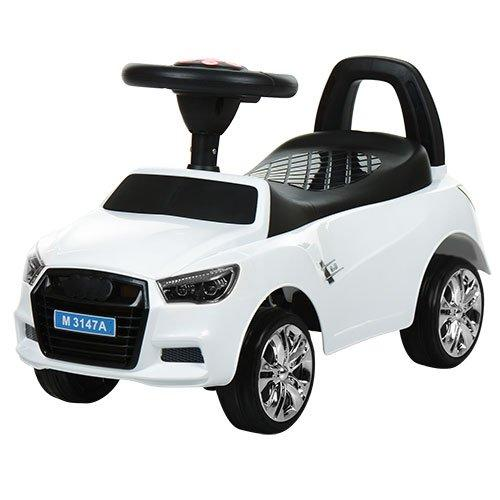 Дитяча каталка-толокар Bambi Audi M 3147A-1, біла