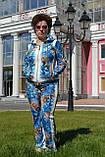Велюровый женский турецкий костюм EZE купить разм 50,52,54,56, фото 6
