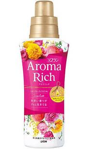 Lion Soflan Aroma Rich Scarlett парфумований кондиціонер для білизни 520 мл