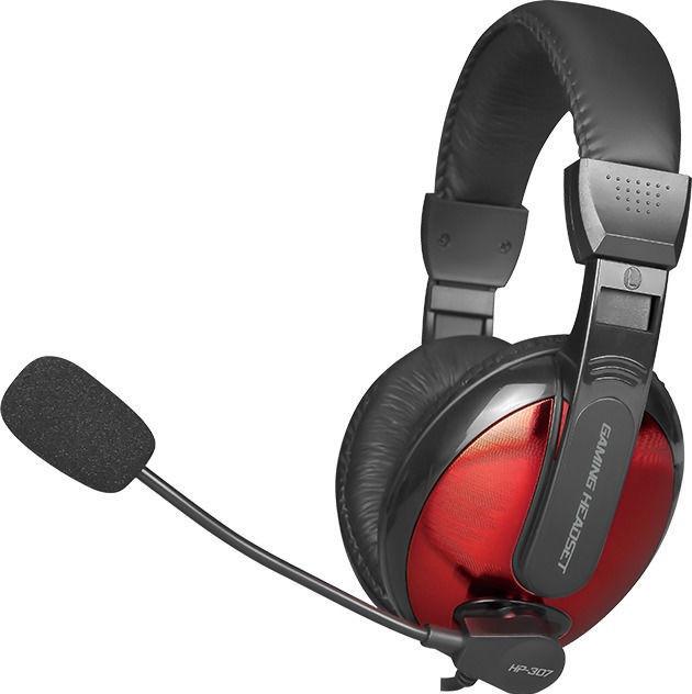 Навушники ігрові XTRIKE ME Gaming HP-307, чорно-червоні