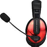 Навушники ігрові XTRIKE ME Gaming HP-307, чорно-червоні, фото 2
