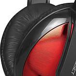 Навушники ігрові XTRIKE ME Gaming HP-307, чорно-червоні, фото 3