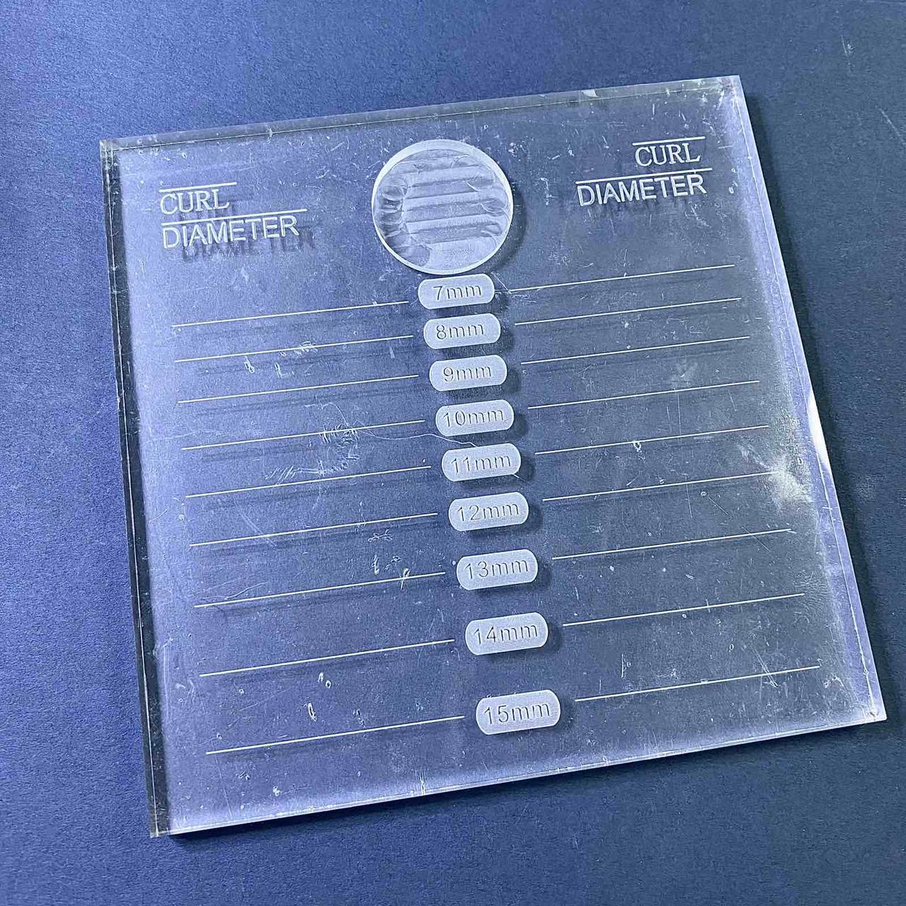 Планшет для сортировки ресниц (для наращивания)