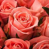 Роза лососевого цвета Анна Карина 40 - 110 см, фото 4