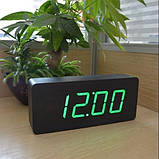 Часы электронные цифровые VST 865 с зеленой подсветкой, фото 2