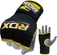 Бинт-перчатка RDX Inner Gel ( черный, синий)