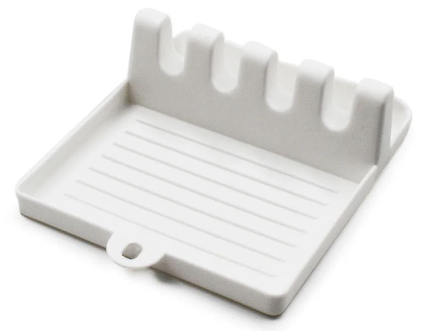 Підставка-тримач для кухонного начиння 7241, біла