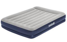 Кровать надувная двуспальная Bestway 67725 203x152x36см, синяя