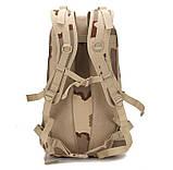 Рюкзак тактичний міської Molle Assault A19 чорний, 30 л, фото 2