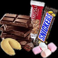 Шоколад, конфеты, сладости