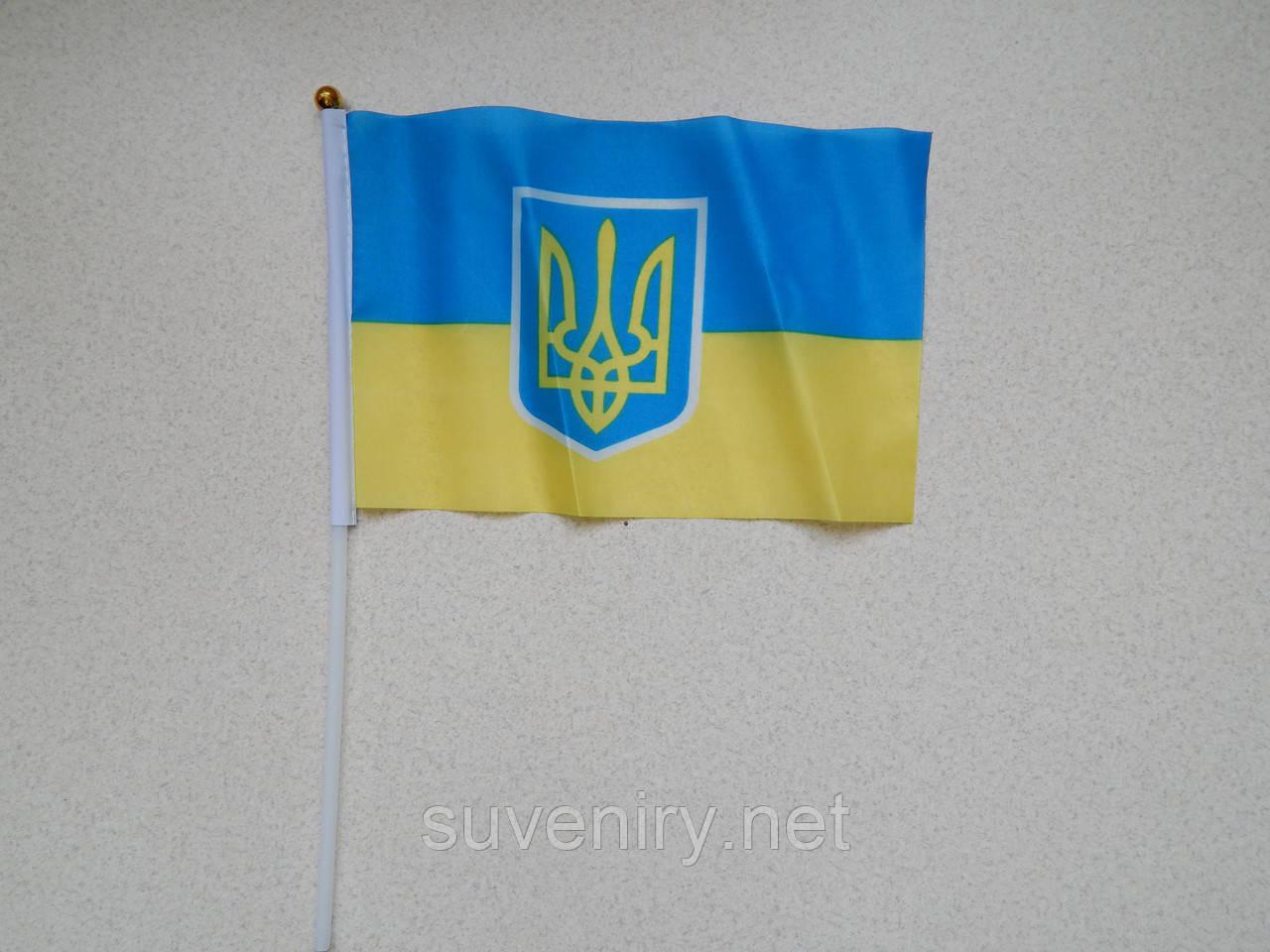 Флаг  Украины на присоске