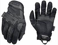 Перчатки Mechanix тактические полнопалые без косточек черные