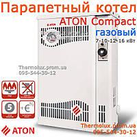 Котел парапетный газовый АТОН АОГВ Compact 12,5Е (12,5ЕВ) одноконтурный двухконтурный, фото 1