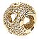 Шарм трепет сердец из золота 585 пробы , фото 3