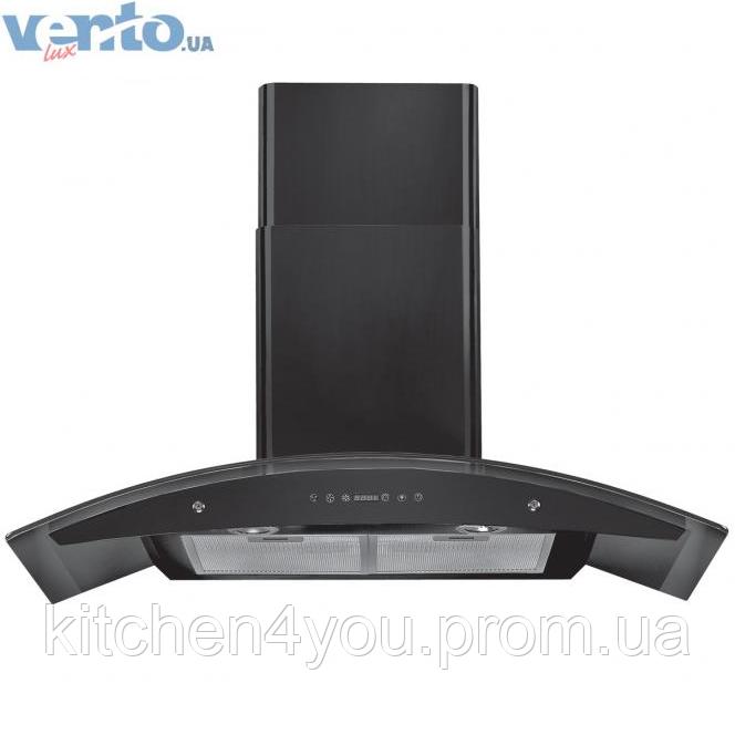 Декоративна кухонна витяжка Ventolux Venezia 90 MR black (900 мм)