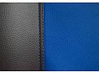 Авточохли універсальні (повний набір) Pok-ter Exclusive з екошкіри синій, фото 6