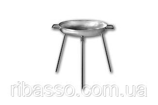 Сковорода (Диск) для пікніка з нержавіючої сталі (32см.)