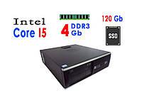 Системный блок HP Compaq 6300 Pro SFF (Core I5-3470 / 4Gb / SSD 120Gb)