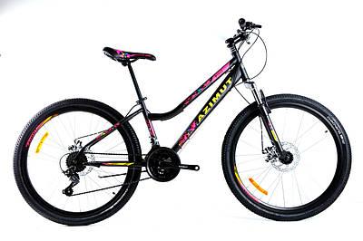 """Підлітковий велосипед Azimut Pixel FR\D 24"""""""