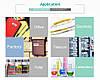 Лента для принтера этикеток Epson LabelWorks LK2GBP Pastel Blk/Green 6/8, фото 3