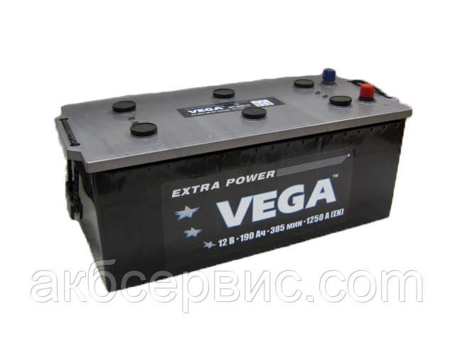 Акумулятор автомобільний Vega 6СТ-190 Аз