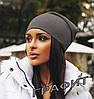 Женская шапка трикотажная, фото 8