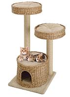 Напольная когтеточка-игровой комплекс для кошек Ferplast Amir
