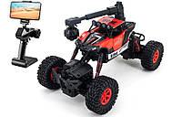 Детская радиоуправляемая машинка краулер-амфибия Crazon Red Crawler 4WD c WiFi FPV камерой