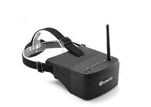 """FPV окуляри - шолом для квадрокоптера і авіамоделей Eachine EV800, 5 """"екран, 5.8 Ггц, 800x480 (100272)"""