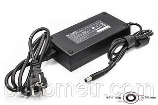 Блок живлення для ноутбуків PowerPlant HP 220V, 19V 180W 9.5 A (7.4*5.0)