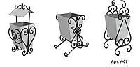 Урна металлическая для мусора