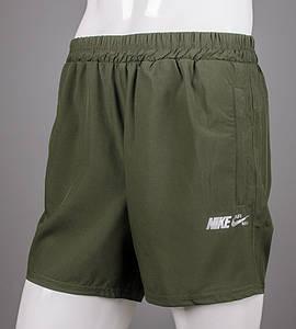 Шорти чоловічі спортивні Nike (ШМ09), Хакі