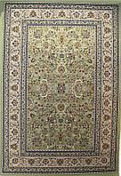 Акриловый ковер  Sultan 0233 GREEN-IVORY
