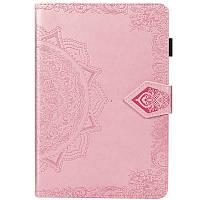 Кожаный чехол (книжка) Art Case с визитницей для Samsung Galaxy Tab A 8.0 (2019) Розовый