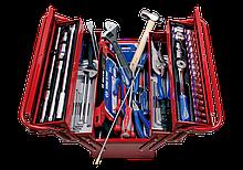 Набор инструментов в металлическом ящике 132 предмета King Tony 902-132CR (Тайвань)