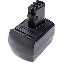Акумулятор PowerPlant для дамських сумочок та електроінструменту METABO 12V 2.5 Ah Ni-MH (BZ 12 SP)