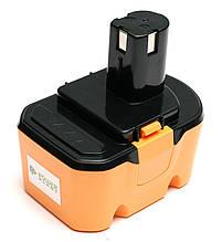 Акумулятор PowerPlant для дамських сумочок та електроінструментів RYOBI GD-RYO-14.4(A) 14.4 V 3.3 Ah NIMH