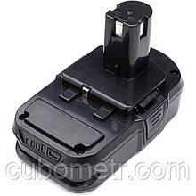 Акумулятор PowerPlant для дамських сумочок та електроінструментів RYOBI 18V 2.0 Ah Li-ion (P102)