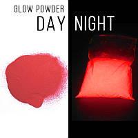 Люминофор красный\ красно-оранжевое свечение.  Уп. 10 г. Светящийся в темноте пигмент., фото 1