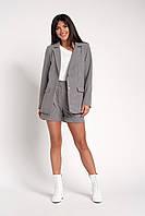Модный женский костюм в деловом стиле : пиджак и шорты 42, 44, 46, 48