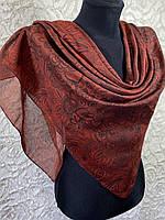 Женский хлопковый платок в этническом стиле (цв.1)