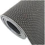 Рулонне антиковзаюче покриття з ПВХ 1,2 м х 15 м. доріжка Зигзаг h=5 мм, фото 6