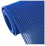 Рулонне антиковзаюче покриття з ПВХ 1,2 м х 15 м. доріжка Зигзаг h=5 мм, фото 7