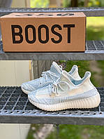 Мужские кроссовки Yeezy Boost 350 Cloud White, фото 1