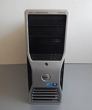 Dell Рабочая станция T3500 Tower/ Intel Xeon W3520 (4(8)ядра по 2.66 - 2.93 GHz)/6 GB DDR3/Quadro NVS420
