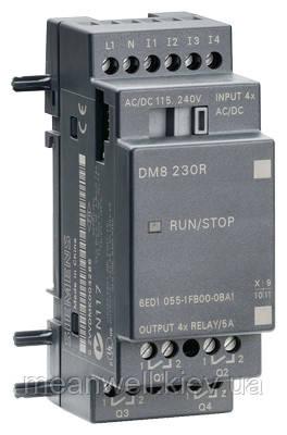 6ED1055-1FB00-0BA1 LOGO! DM8 230R Дискретный модуль расширения LOGO!