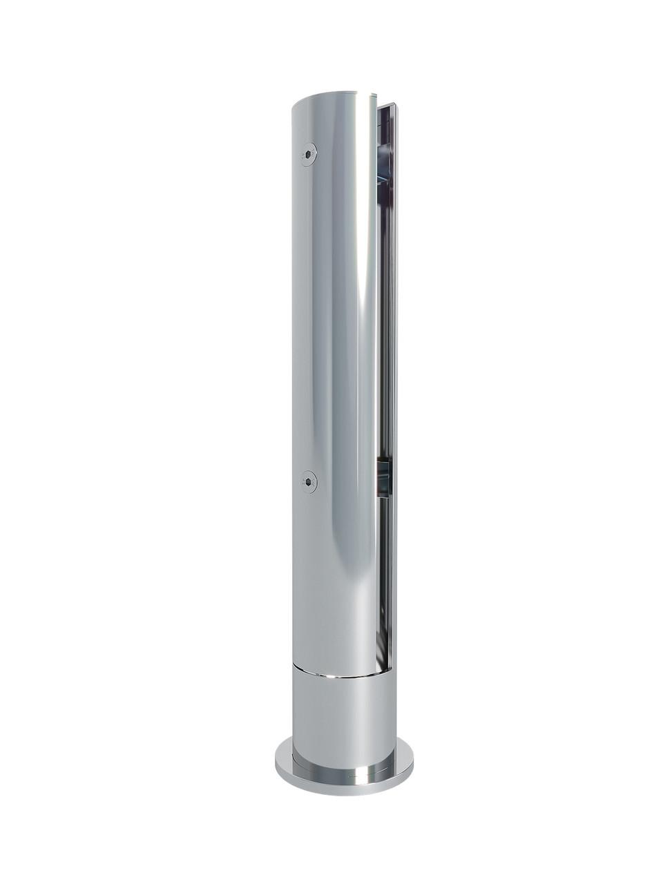 ODF-02-19-02-H370 Одне анкерна стійка для скла з нержавіючої сталі, D 60 мм, H 370 мм, для огорож і поручнів