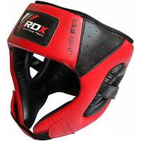 Боксерский шлем детский RDX (синий, красный)